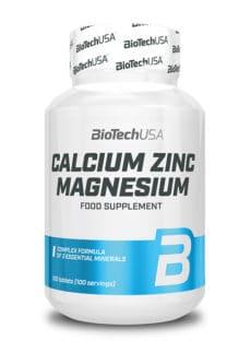 Biotech USA Calcium Zinc Magnesium