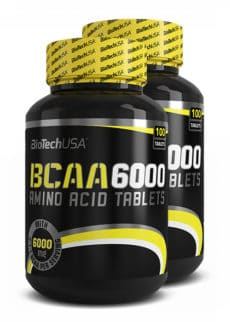 Biotech USA BCAA 6000 2er Pack