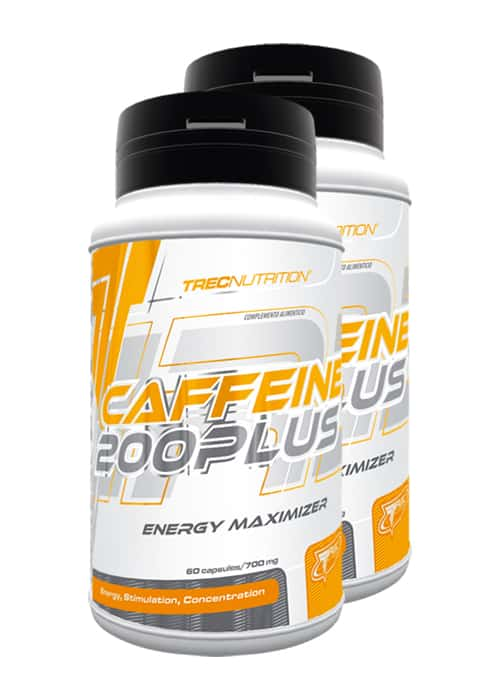 Trec Nutrition Caffeine 200 Plus 2er Pack