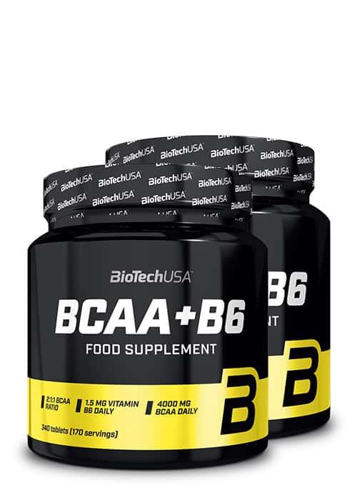 Biotech USA BCAA + B6 2er Pack