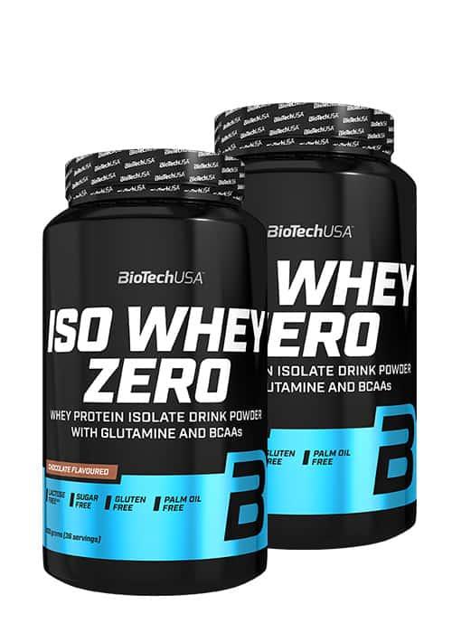 Biotech USA Iso Whey Zero 2er Pack