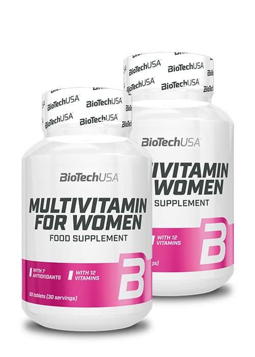 Biotech USA Multivitamin for Women 60 2er Pack