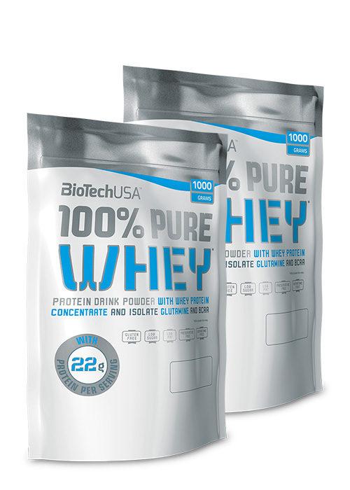 Biotech USA 100% Pure Whey 2er Pack