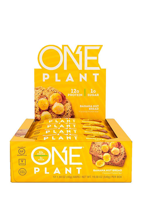 One Plant Protein Bar Box