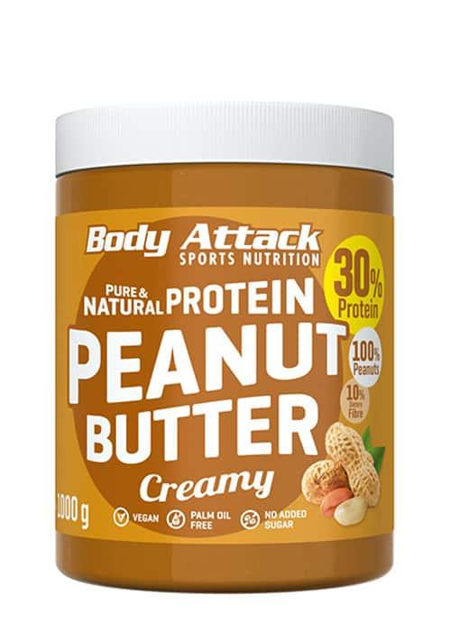 Body Attack Peanut Butter