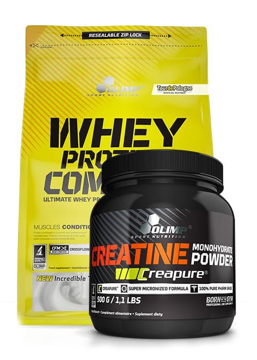 Olimp Whey Protein Complex 100 2270 + Creapure