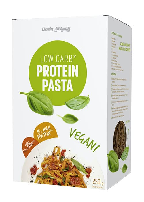 Body Attack Protein Low-Carb Pasta Vegan