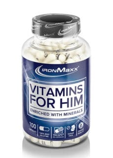 Ironmaxx Vitamins for Him