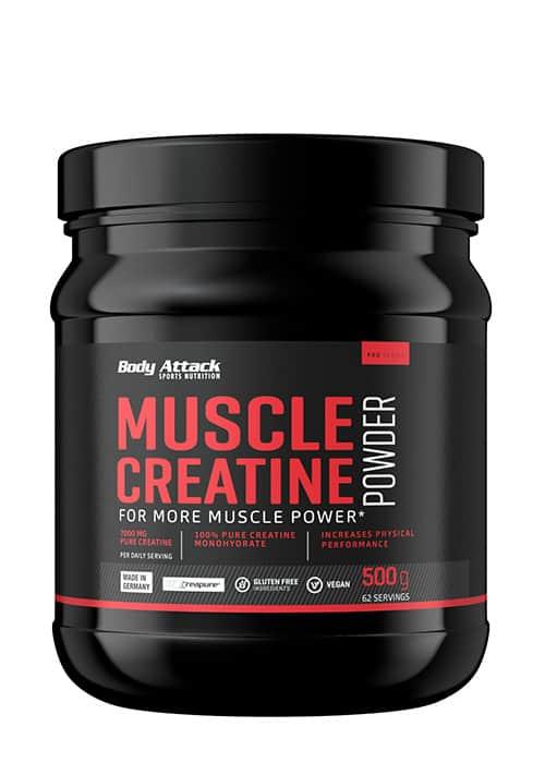 Body Attack Muscle Creatine Creapure